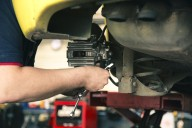 Mechanic Work Car Maintenance Brakes